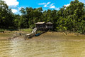 Community on Marajo Bay in Belem do Para, Brazil Royalty Free Stock Photo