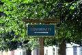 Community sign Royalty Free Stock Image