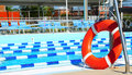 Community Swimming Pool Stock Photo