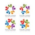 Community and team work logo