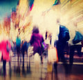 Commuter People Rush Hour Busy City Concept Royalty Free Stock Photo
