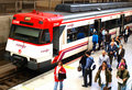 Commuters Royalty Free Stock Image
