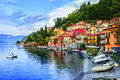 Como Lake, Italy Royalty Free Stock Photo