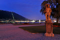 Como night city view Royalty Free Stock Photography
