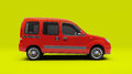 Compact cargo van light commercial small escort in studio Royalty Free Stock Photo