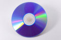 Compact disc on a white background studio shot Royalty Free Stock Photography