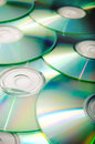 Compact discs a lot of as a background Royalty Free Stock Image