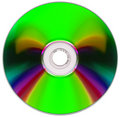 Compact disk Stock Photography