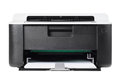Compact printer isolated Royalty Free Stock Photo