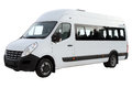 Compact minibus. Royalty Free Stock Photo