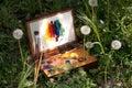 Compact Vintage Painter's Case...