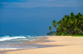 Compact world indian ocean washes the coast of sri lanka Stock Photo