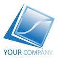 Company business logo Royalty Free Stock Image