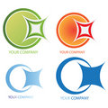 Company business logo Royalty Free Stock Photos
