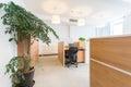Company office the internal landscape Royalty Free Stock Photos