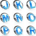 Company symbols. Royalty Free Stock Photo