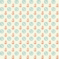 Compass and anchors on background seamless patterns Royalty Free Stock Image