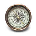 Compass isolated on white background Royalty Free Stock Image