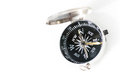 Compass isolated on white background small pocket Royalty Free Stock Photos