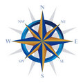 Compass navigator Royalty Free Stock Image