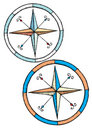 Compass pair Stock Images