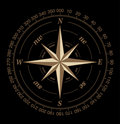 Compass rose Stock Image
