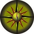 Compass Rose Design Royalty Free Stock Photos