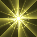 Compass star symbol sun light halo Royalty Free Stock Photo