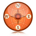 Compass wind rose Stock Image