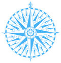 Compass wind rose vector Royalty Free Stock Photo