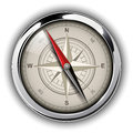 Compass with windrose vector illustration Royalty Free Stock Images