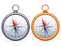 Compasses. Royalty Free Stock Photography