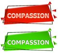 Compassion sign Royalty Free Stock Photo