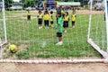 Compete kids soccer team