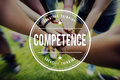 Competence Skill Ability Expertise Performance Concept Royalty Free Stock Photo