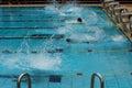 Competición de la natación Fotografía de archivo libre de regalías