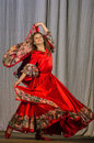 Competition of choreographic collectives dance of life in the city of kondrovo of the kaluga region in russia in annual festival Stock Photos