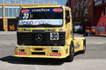 Competition truck valencia spain june unidentified at the motorexpo car show in the the maximum parade on jun cheste circuit in Royalty Free Stock Image