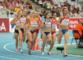 Competitors of 1500m Women Royalty Free Stock Photo