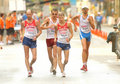 Competitors of 50km Walk Stock Image