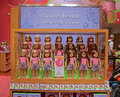 Complete American Girl Dolls set on Display Royalty Free Stock Photo