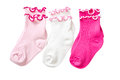 Complete of baby socks. Royalty Free Stock Photography