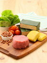 Complete ingredient Royalty Free Stock Photo