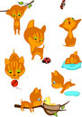 The complete  red kittens 2 Royalty Free Stock Images