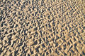 Complex beach sand ripple pattern Stock Photo