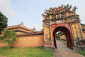 Complex of hue monuments in vietnam the is located and around city thua thien province the geographical centre Royalty Free Stock Photos
