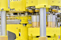 Complex transmission of manufacturing machine