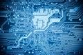 Complexity Circuit Board Closeup