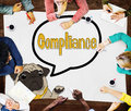 Compliance Affirmation Continuity Regulation Concept Royalty Free Stock Photo