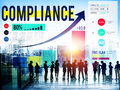 Compliance Rules Law Follow Regulation Concept Royalty Free Stock Photo